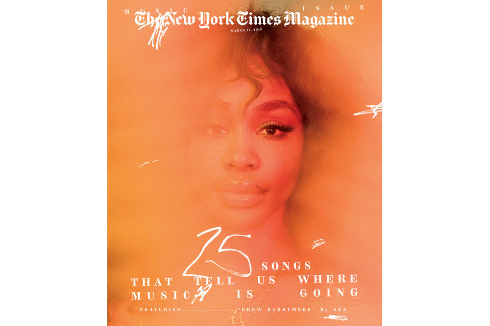 SZA The New York Times Magazine March 2018 Music Issue Cover