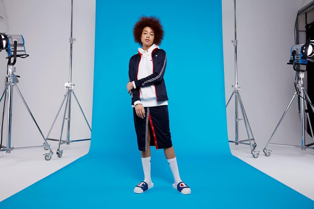 Champion Spring Summer 2018 Lookbook Track Top Skirt Black