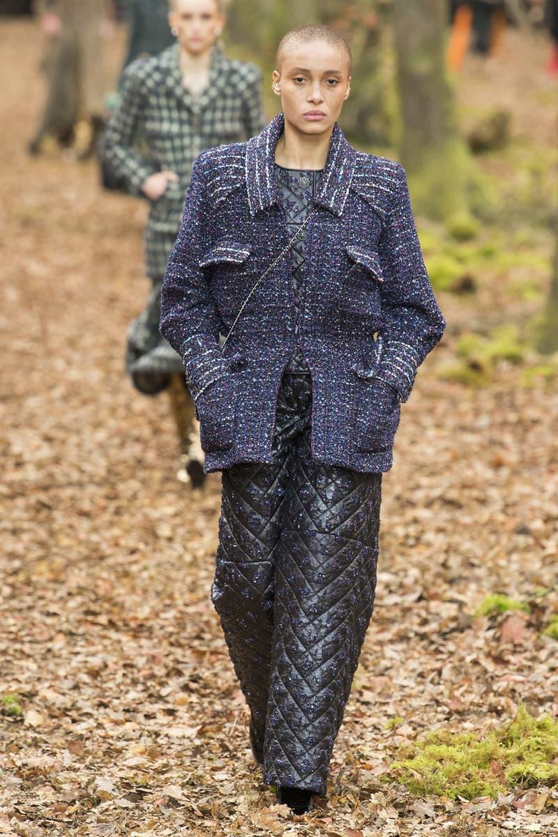 Chanel Fall Winter 2018 Paris Fashion Week Show Collection Adwoa Aboah