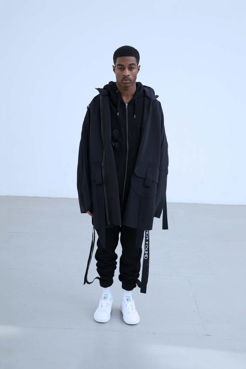 Charli Cohen Fall/Winter 2018 Collection Lookbook Jacket Pants Black