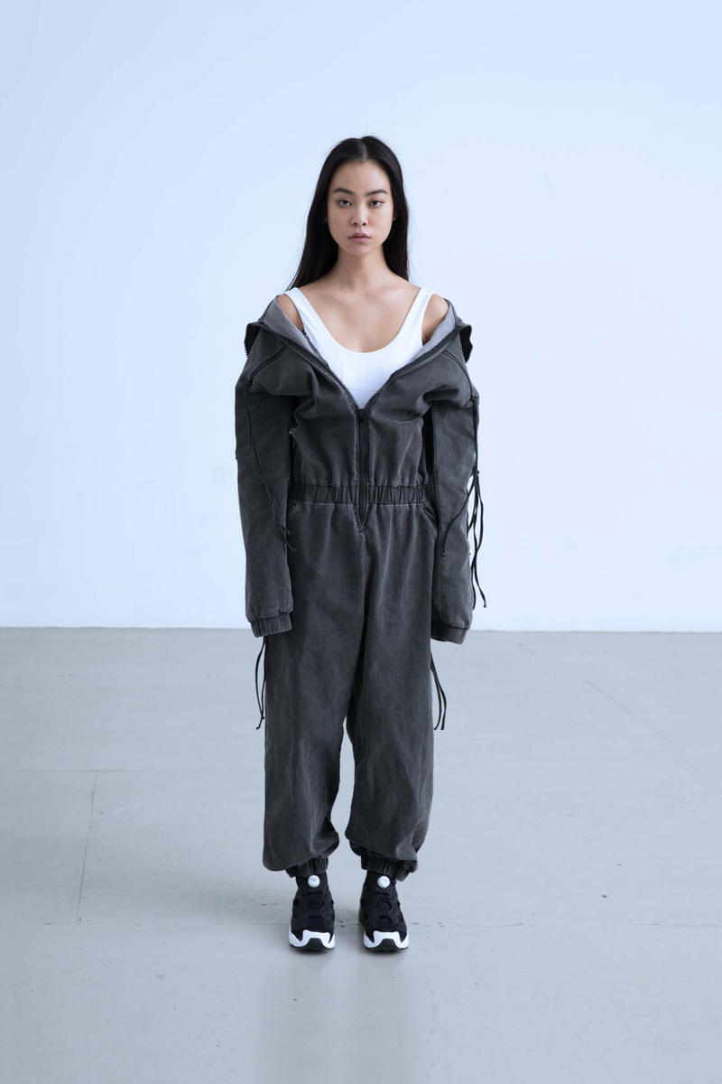 Charli Cohen Fall/Winter 2018 Collection One Piece Jumper Grey