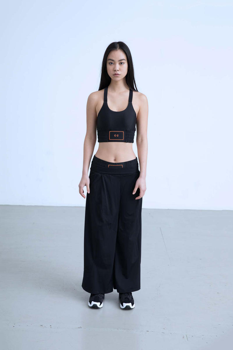 Charli Cohen Fall/Winter 2018 Collection Lookbook Bra Pants Black
