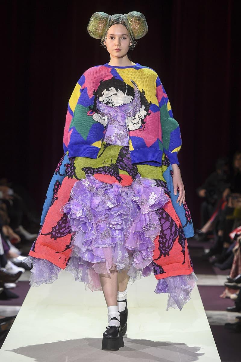 comme des garcons rei kawakubo paris fashion week camp