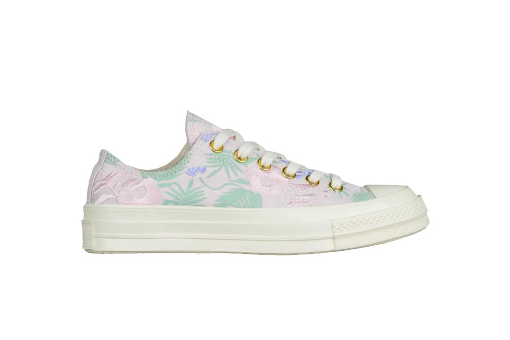 Converse Chuck Taylor All Star '70 Ox Palm Print Pink Mint Green Summer Spring