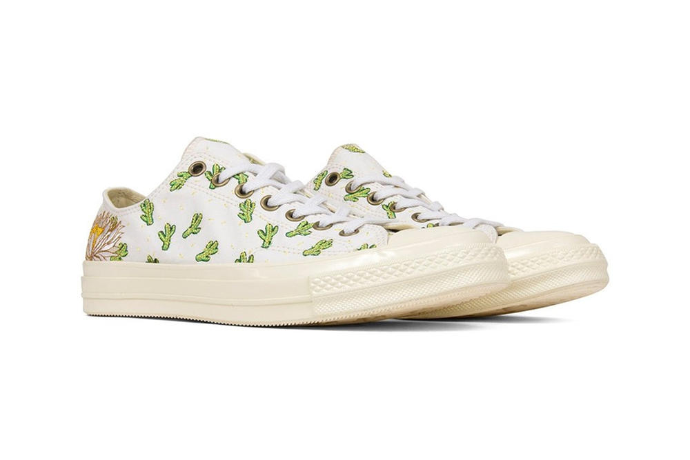 Converse All Star Cactus Embroidered Chuck Taylor '70 low top coachella footwear sneakers womens mens unisex where to buy feature