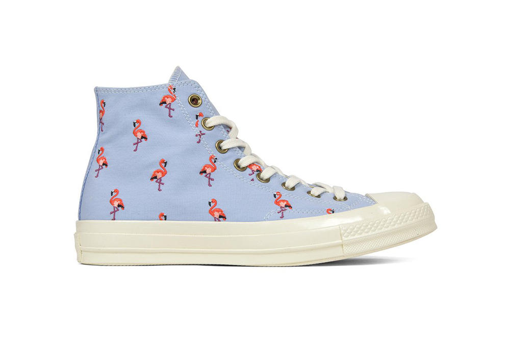 Converse Pink Flamingo Chuck Taylor All Star 70 Hi Blue Chill Pale Coral Egret