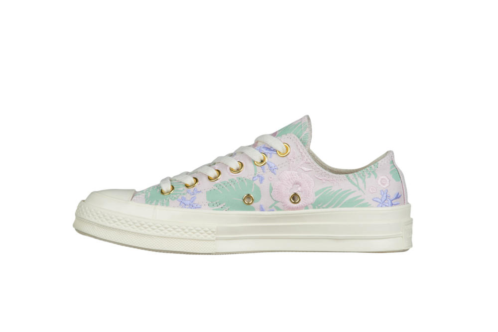 29be6972fef682 Converse Chuck Taylor All Star  70 Ox Palm Print Pink Mint Green Summer  Spring