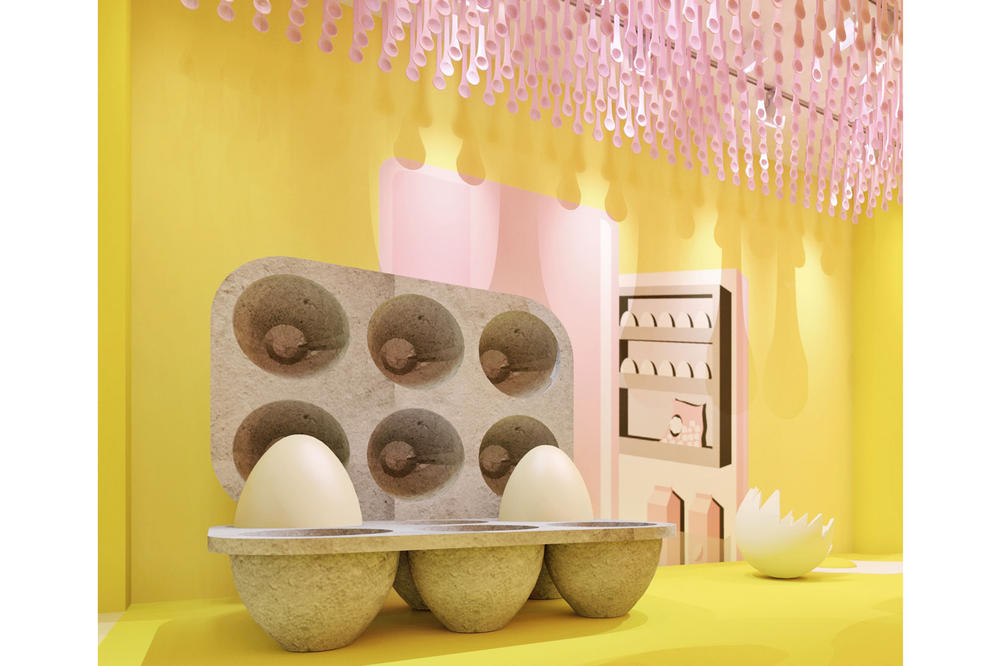 The Egg House New York City Pop Up The Kitchen