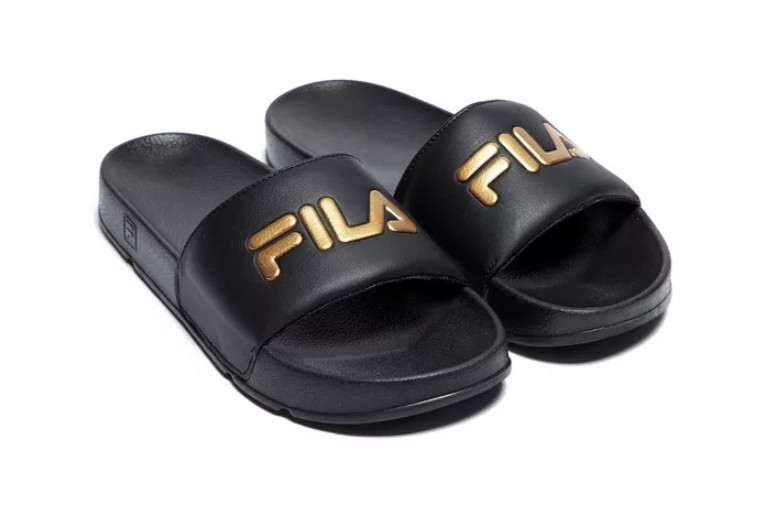 FILA Drifter Slides Release With Gold