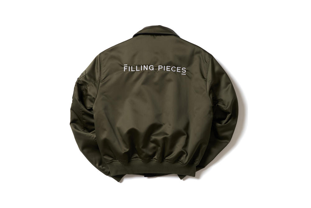 filling pieces unisex ready to wear rtw hoodies parkas jackets tees tshirts graphics