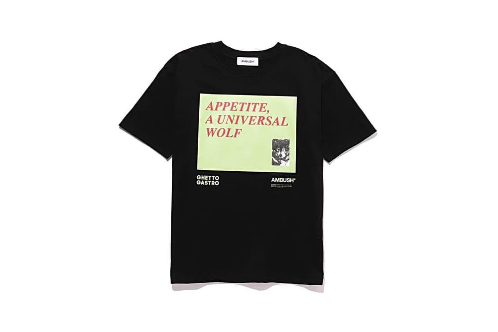 Ghetto Gastro AMBUSH T-Shirt Black