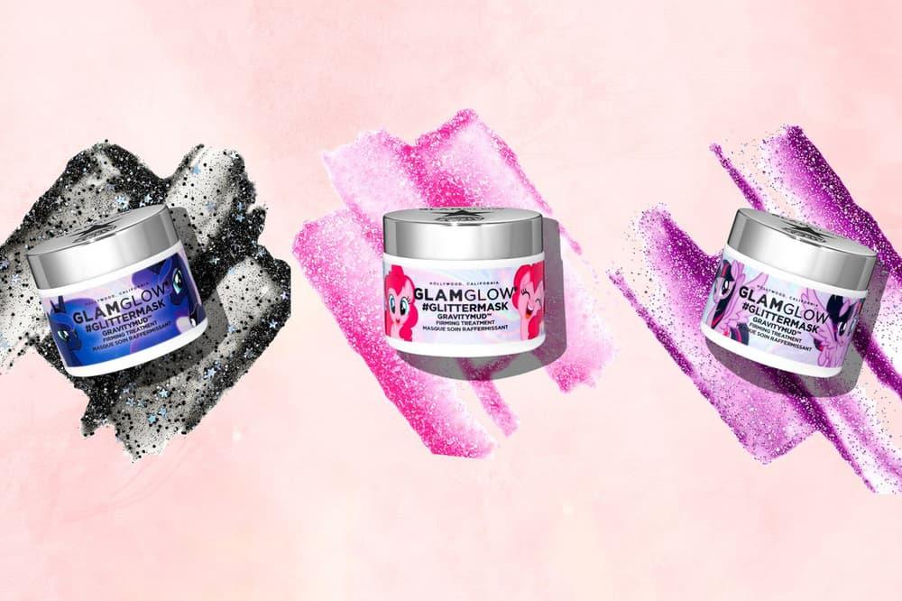 GLAMGLOW My Little Pony GravityMud Glitter Mask #GlitterMask face beauty black purple pink instagram where to buy