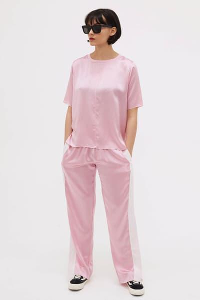Aries T-Shirt Pink Silk Goodhood
