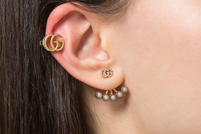 3db35c18b Gucci Releases Double G Clip-On Earring in Gold | HYPEBAE