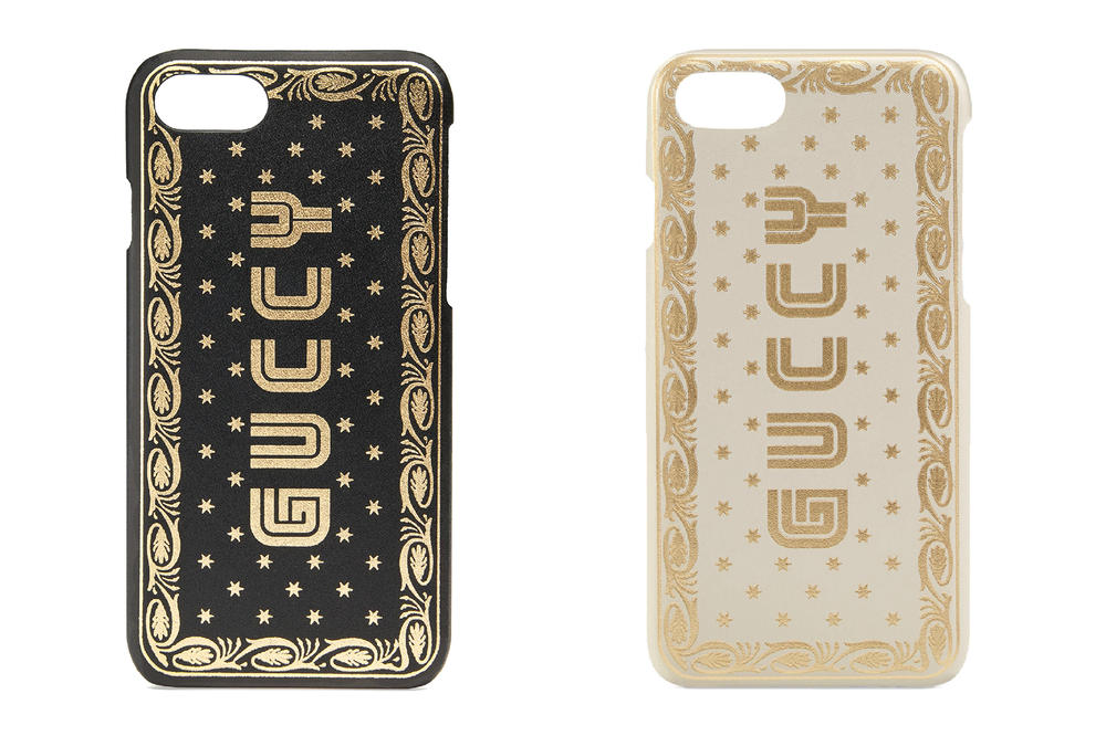 Gucci Bootleg GUCCY iPhone 7 Cases Phone case luxury black white sega inspired 80s retro where to buy