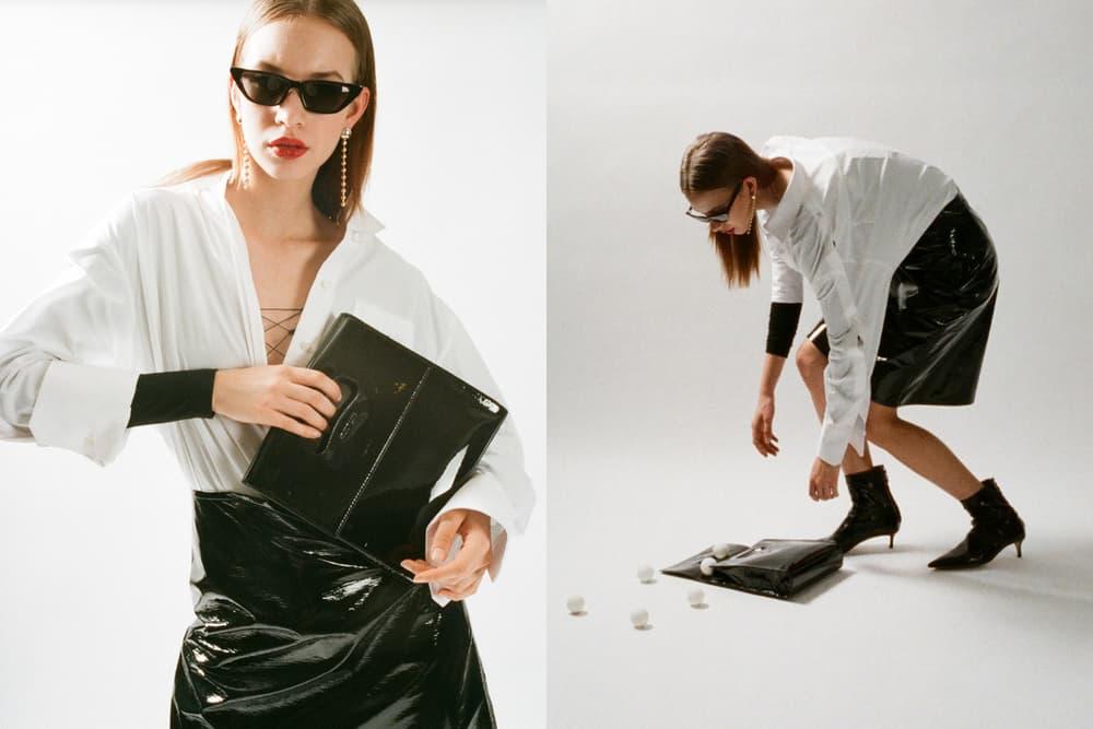 Helmut Lang Spring Summer 2018 HBX Editorial Bag Handbag Black