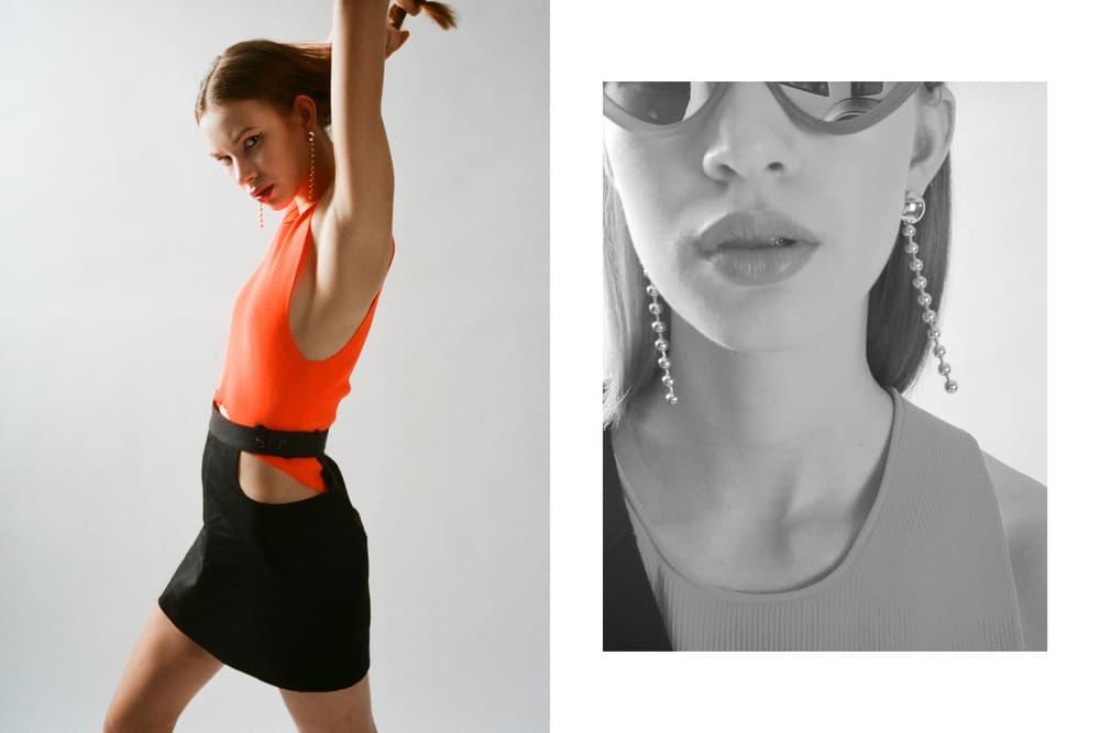 Helmut Lang Spring Summer 2018 HBX Editorial Sunglasses