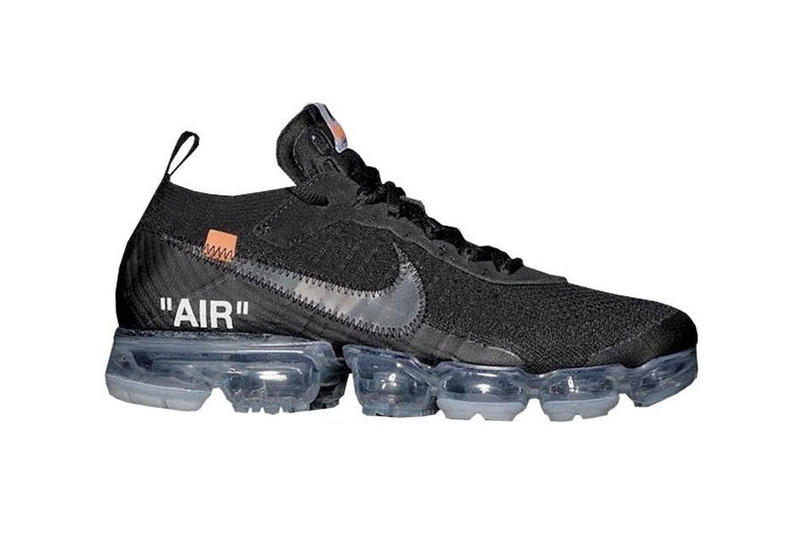 Virgil Abloh Nike Air VaporMax Flyknit Black