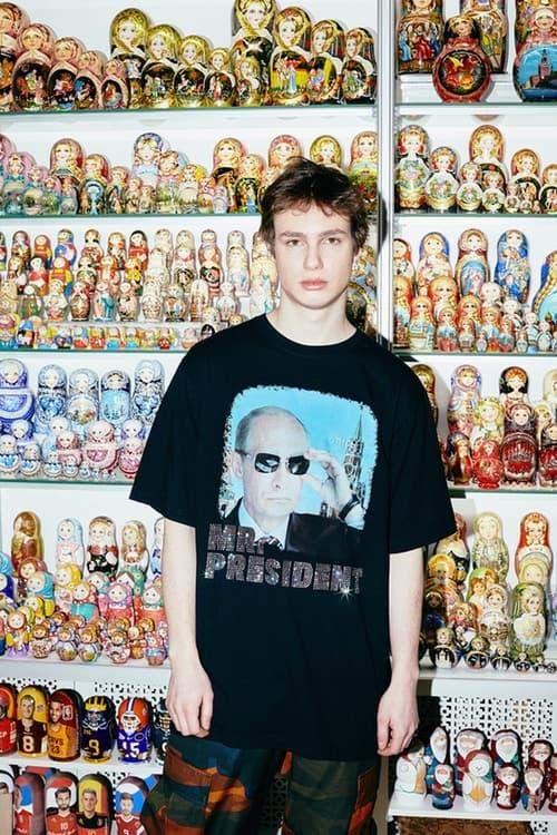 Heron Preston x KM20 Capsule Collection Mr. President T-Shirt Black