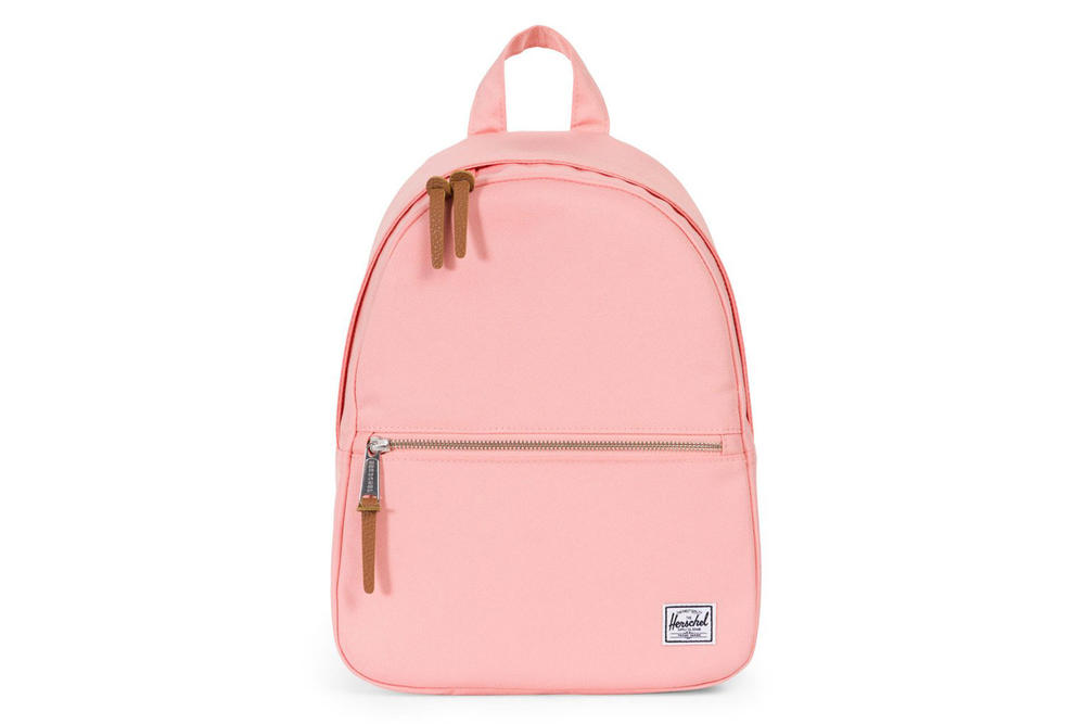 Herschel Supply Town Backpack in Peach Tan Hydrangea Pastel Lilac Blue Purple Pink Bag Shop Price Release Where to Buy Spring Summer 2018