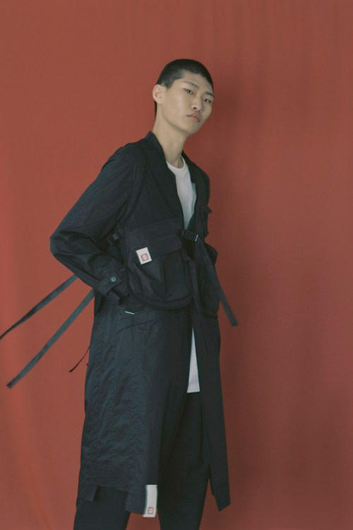 IISE Spring/Summer 2018 Collection Lookbook Long Coat Black