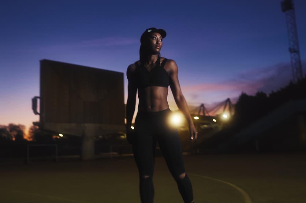 IVY PARK Spring/Summer 2018 Campaign Sports Bra Hat Leggings Black