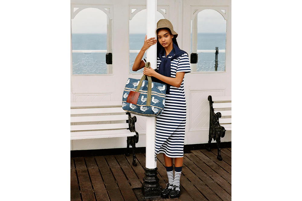 jw anderson uniqlo spring summer 2018 stripes tartan brighton pier