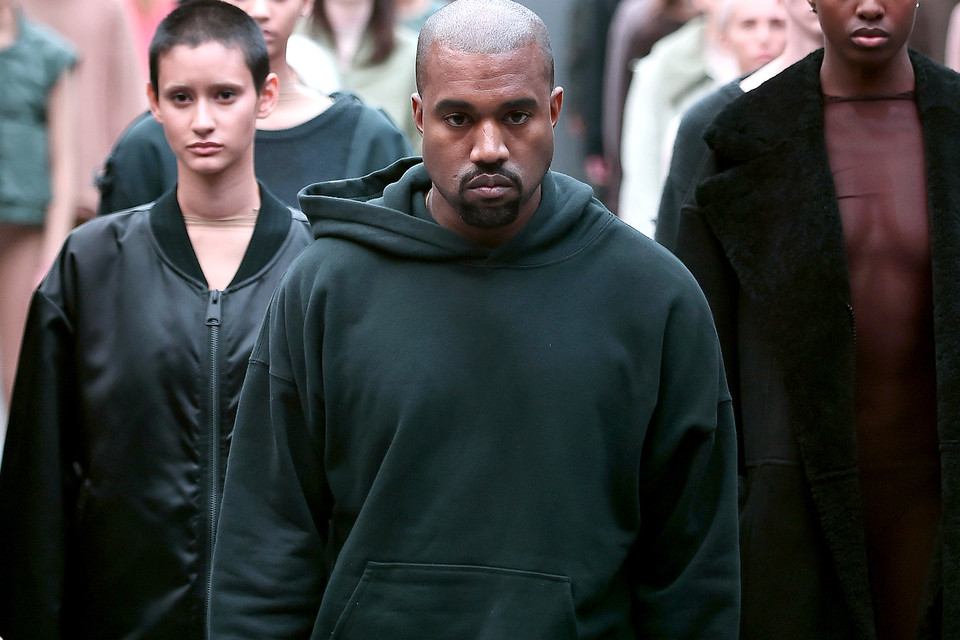 Kanye West Invited Guests to an Almost Empty Showroom for YEEZY Season 7 ddd1f4878