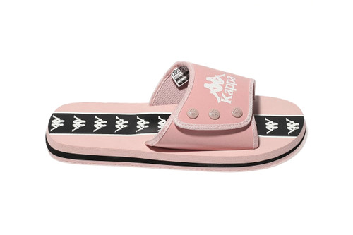 1a143a9b98ee These Millennial Pink Kappa Logo Slides Are  90s in the Best Way