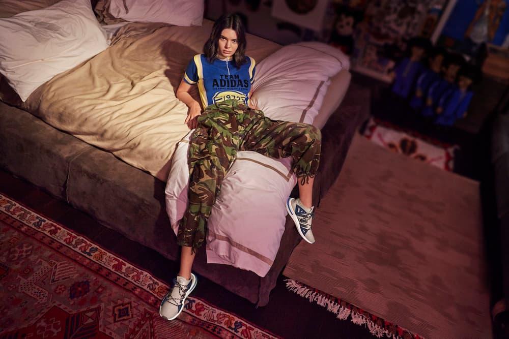 29d5b2f2430f Kendall Jenner adidas Originals ARKYN Sneaker Campaign Footwear Sportswear  New Silhouette