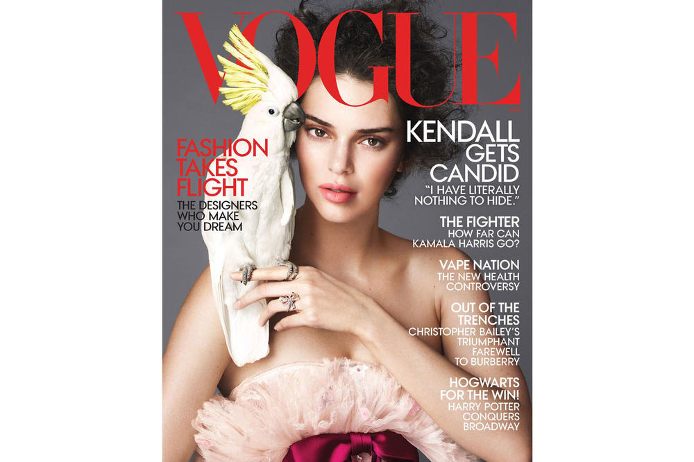 Kendall Jenner Vogue April 2018 Cover Chanel Haute Couture