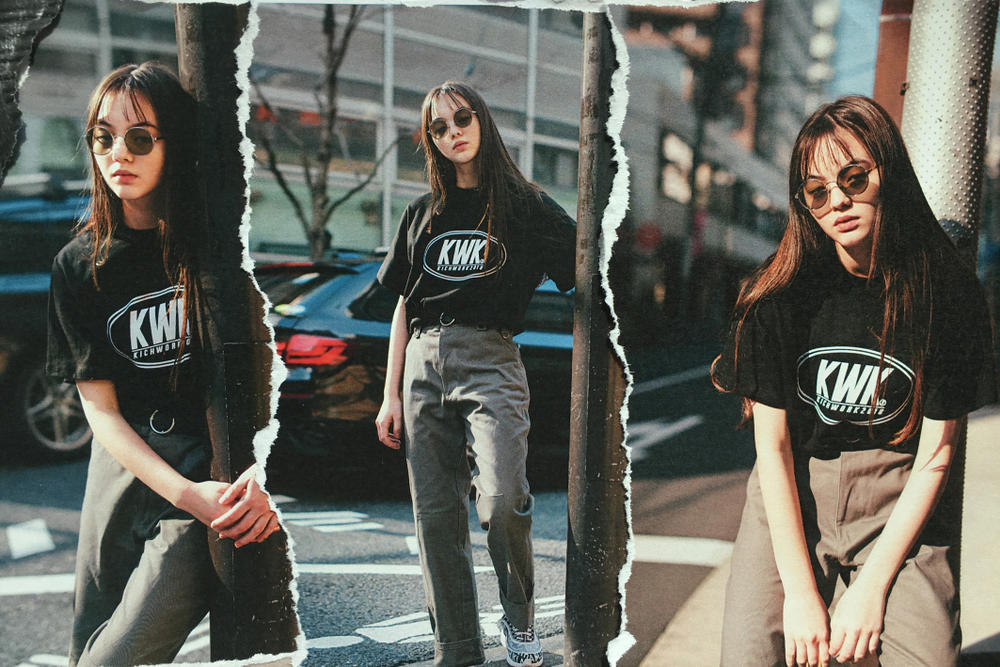 KICHWORK Spring/Summer 2018 Lookbook Collection Korean Fashion K Fashion Streetwear Street Style Balenciaga Burberry