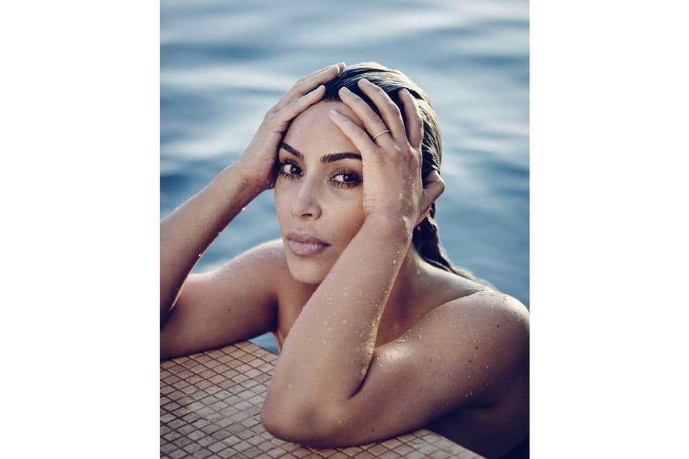 Kim Kardashian ELLE Magazine April 2018