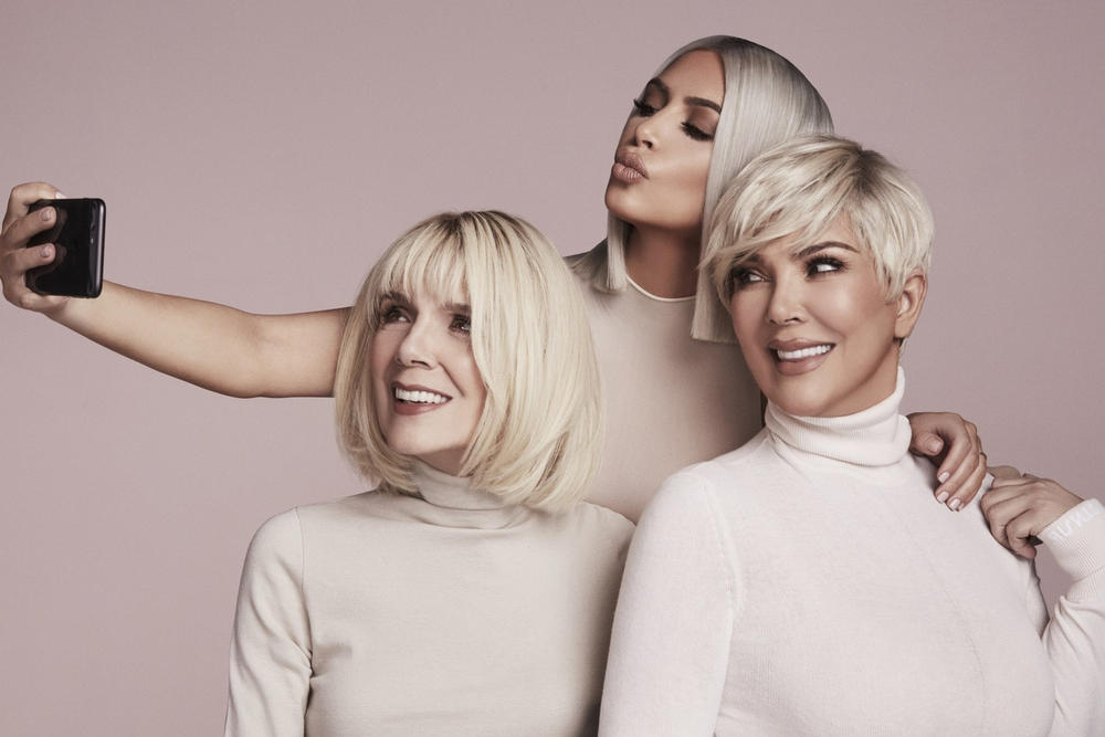 Kim Kardashian Kris Jenner MJ KKW Beauty Concealer Kits Campaign