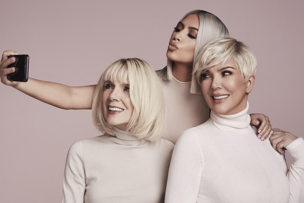 Kim Kardashian KKW Beauty Concealer Kits Release Info Price Kris Jenner MJ Grandmother Mother Campaign