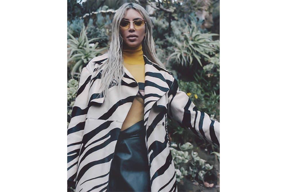 Kim Kardashian ODDA Magazine Cover 2018 Issue 14 Sita Abellan Editorial Fendi Louis Vuitton Off-White Prada Alexander Wang Miu Miu Vivetta Pucci