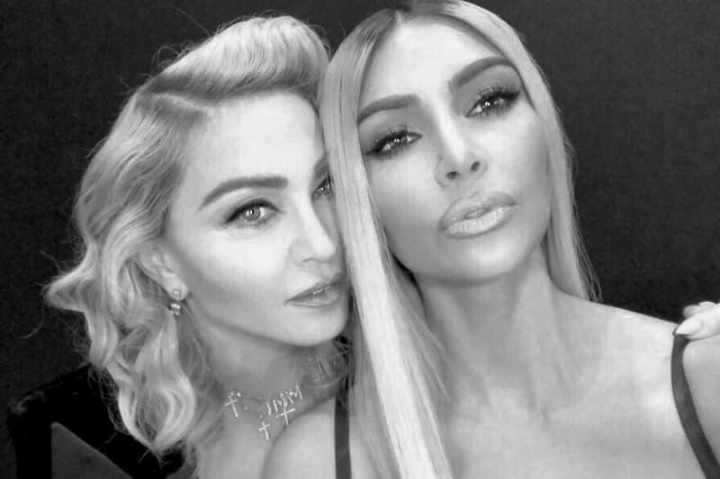 Kim Kardashian KKW Fragrance Madonna Collaboration Perfume Teaser Release