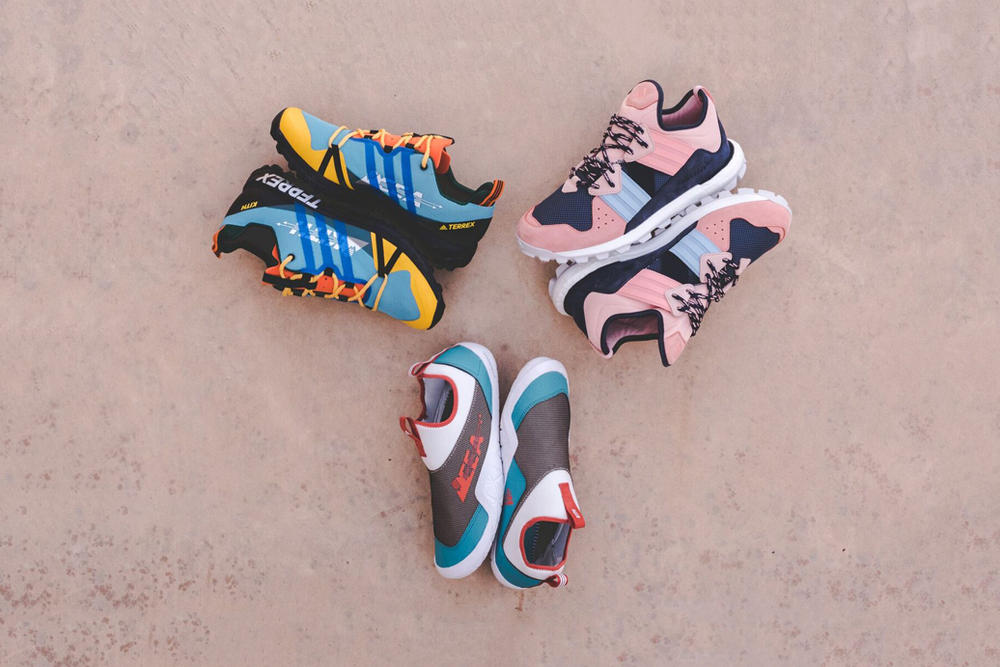 KITH x Terrex EEA Collection Response Trail BOOST Agravic GTX ClimaCool Jawpaw