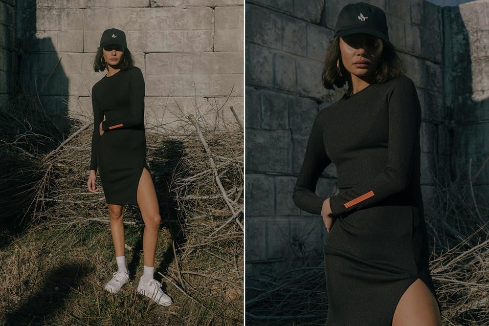KITH Military Collection Lookbook Hannah Rib Dress Hat Black