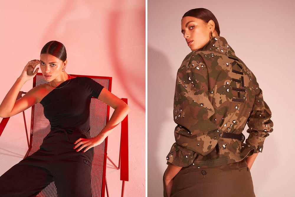 KITH Women Military Second Collection Lookbook Net-a-Porter