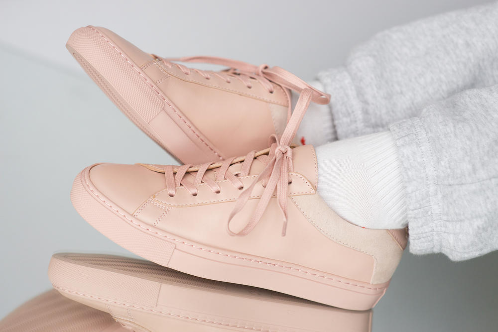 Koio Collective Capri Fiore Pink Sneaker Review Minimalist Minimalism Millennial Pastel Leather Suede Price Where to Buy Release
