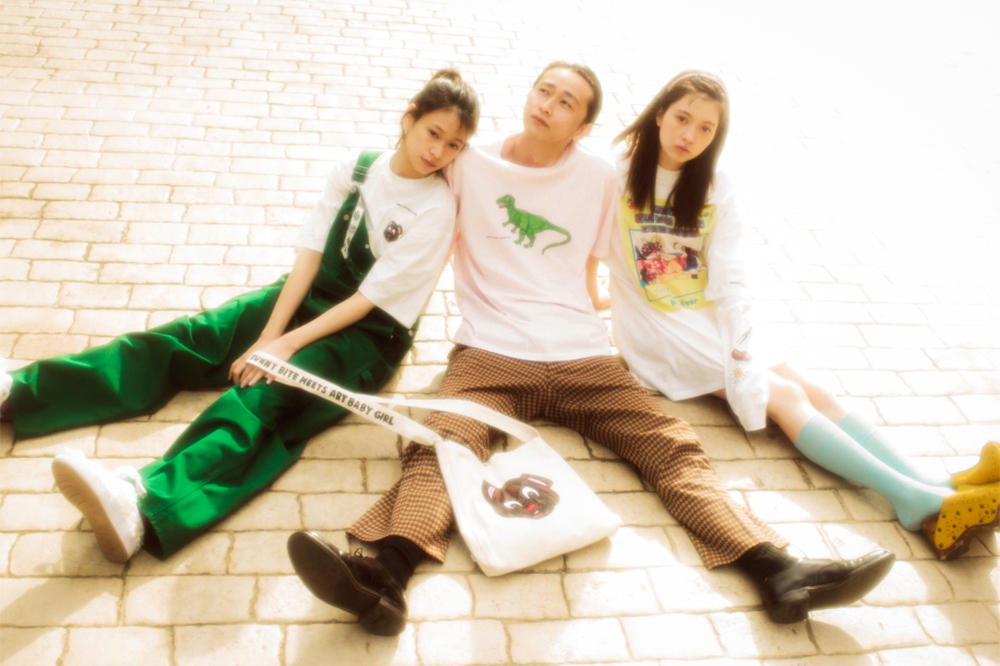 Little Sunny Bite Spring/Summer 2018 Lookbook dickies collaboration neighbourhood story tokyo nostalgic designer