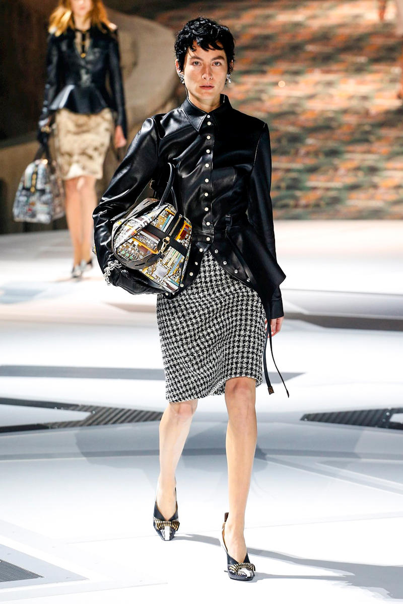 Louis Vuitton Fall Winter 2018 Paris Fashion Week Show Collection