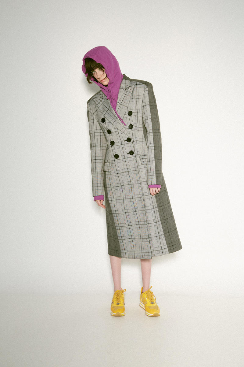 Awake NY Hoodie Acler Coat High Shoes Purple Grey Yellow