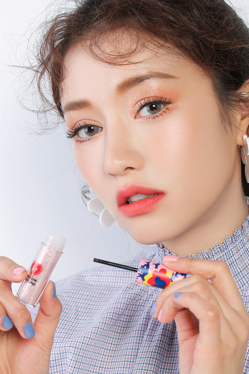 Maison Kitsuné 3CE Stylenanda Makeup Collection Korean Beauty Eye Switch
