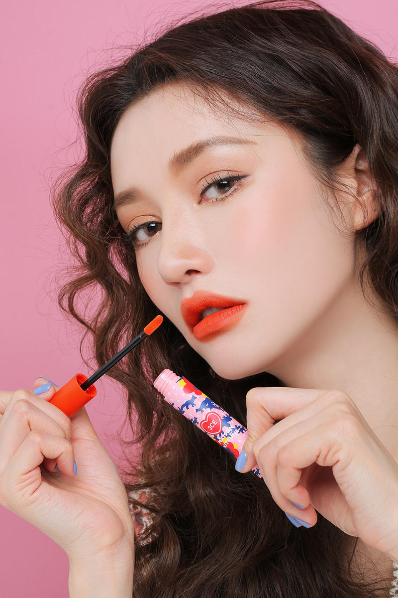 Maison Kitsuné 3CE Stylenanda Makeup Collection Korean Beauty Lip Tint