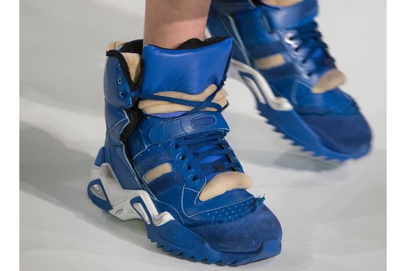 Maison Margiela Fall/Winter 2018 Chunky Sneakers Paris Fashion Week PFW Shoes