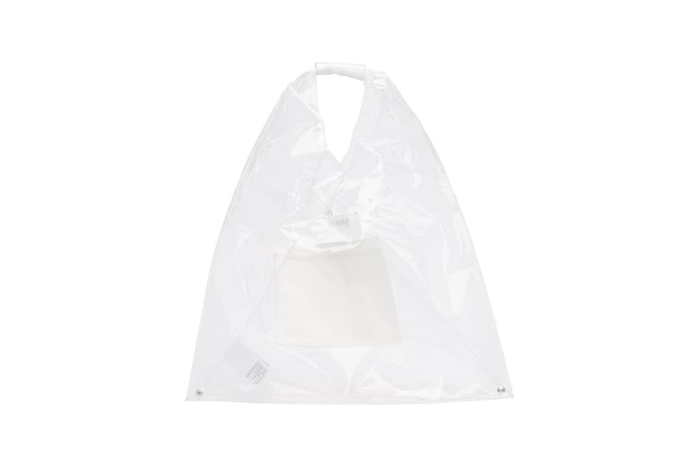 Maison Margiela Transparent Vinyl Tote Bag Plastic PVC Shopper Trend John Galliano