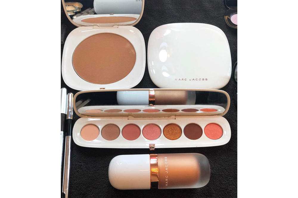 Marc Jacobs Beauty Coconut Collection Rose Gold Gel Dew Drops Highlighter Eyeshadow Palette Setting Powder Bronzer Release Date Sephora April 24 Price Eyeconic
