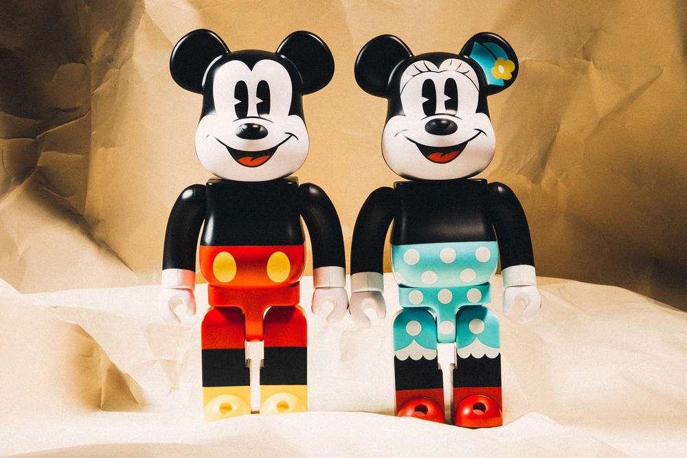 Mickey Minnie Mouse BEARBRICK
